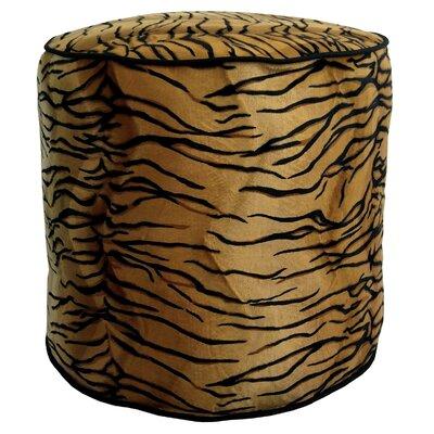 Tiger Soft Pouf Ottoman