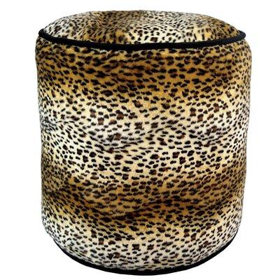 Cheetah Soft Pouf Ottoman