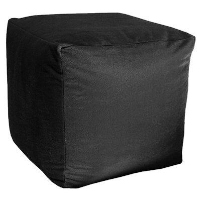 Majestic Pouf Upholstery: Black