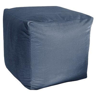 Majestic Plush Cube Pouf Ottoman Upholstery: Copen