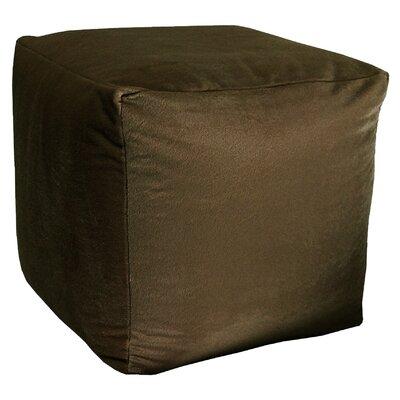 Majestic Pouf Upholstery: Chocolate