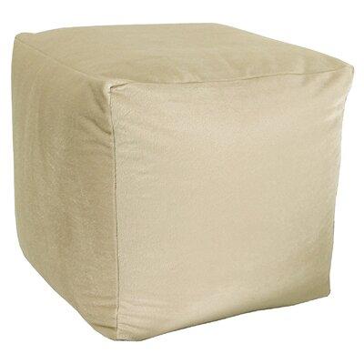 Majestic Pouf Upholstery: Parchment