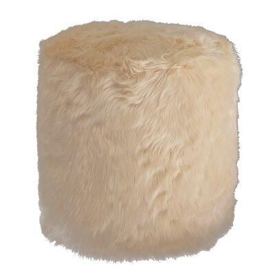 Pouf Upholstery Color: Camel