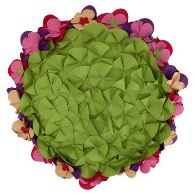 Floral Frame Pillow