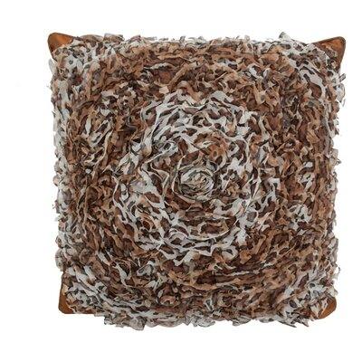 Circular Chiffon Throw Pillow Color: Leopard