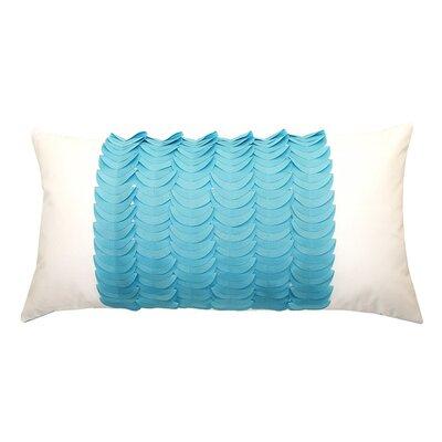 Elisabetta Outdoor Lumbar Pillow Color: Aqua