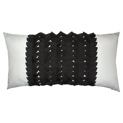 Elisabetta Outdoor Lumbar Pillow Color: Black