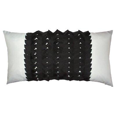 Elisabetta Outdoor Lumbar Pillow Color: Black