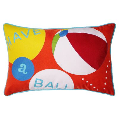 Have a Ball Outdoor Lumbar Pillow