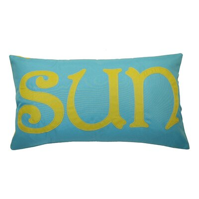Sun Outdoor Lumbar Pillow