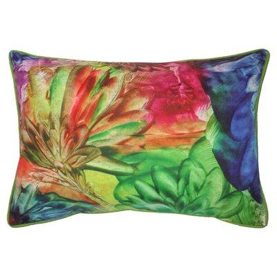 Wildflowers Outdoor Lumbar Pillow