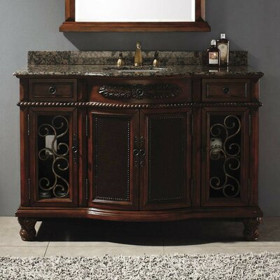 Classico 53 Single Cherry Bathroom Vanity Set