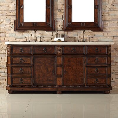 "Regent 72"" Double Bathroom Vanity Base"