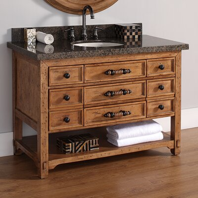 Malibu 48 Single Bathroom Vanity Base
