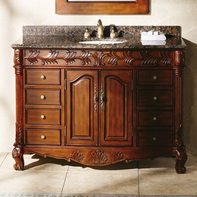 Classico 48 Single Cherry Bathroom Vanity Set