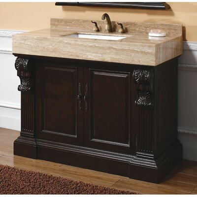 Toscano 42 Single Cherry Bathroom Vanity Set
