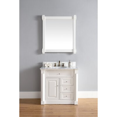 Maurice 36 Single Cottage White Bathroom Vanity Set