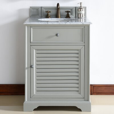 Savannah 26 Single Bathroom Vanity Base Base Finish: Urban Gray