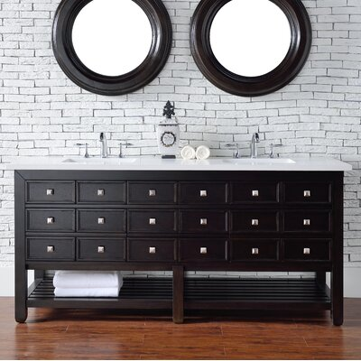 Vancouver 72 Single Bathroom Vanity Base