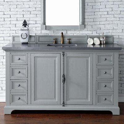 Providence 60 Single Urban Gray Bathroom Vanity Set