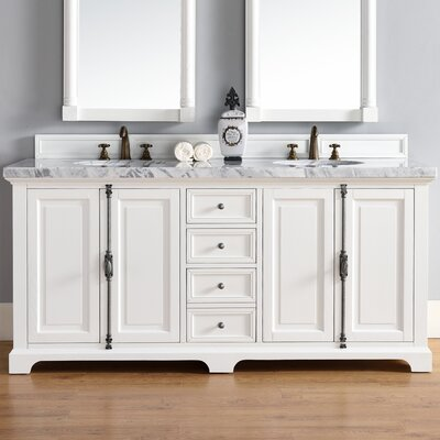 Providence 72 Double Bathroom Vanity Base