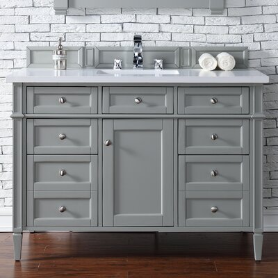 Brittany 48 Single Bathroom Vanity Base Base Finish: Urban Gray