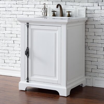 Belhaven 26 Single Cottage White Bathroom Vanity Set