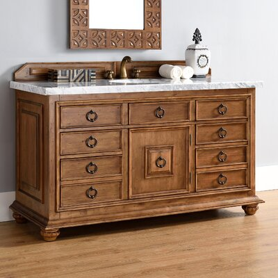 Frye 60 Single Cinnamon Bathroom Vanity Set
