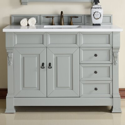 Brookfield 48 Single Urban Gray Bathroom Vanity Set