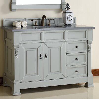 Brookfield 48 Single Urban Gray Bathroom Vanity Set