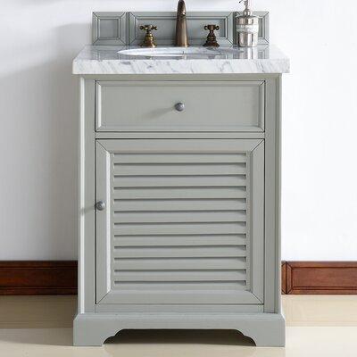 Savannah 26 Single Urban Gray Bathroom Vanity Set