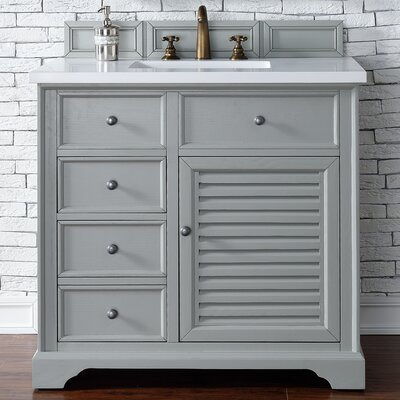 Savannah 36 Single Bathroom Vanity Base Base Finish: Urban Gray