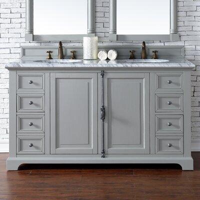 Providence 60 Double Bathroom Vanity Base Base Finish: Urban Gray