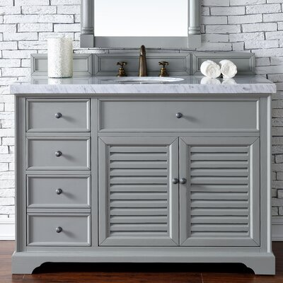 Savannah 48 Single Urban Gray Bathroom Vanity Set