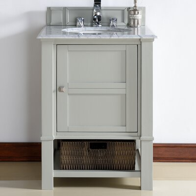 Madison 26 Single Bathroom Vanity Base Base Finish: Dove Gray