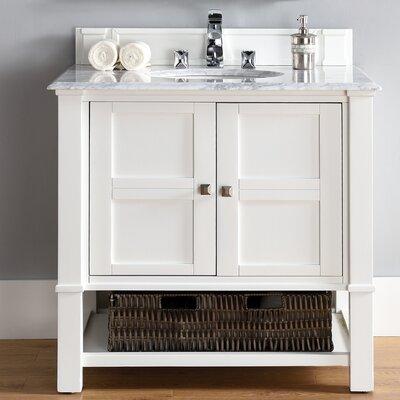 Madison 36 Single Bathroom Vanity Base Base Finish: Cottage White