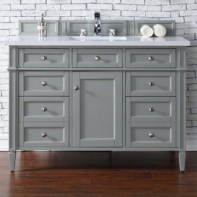 Deleon 48 Single Urban Gray Bathroom Vanity Set