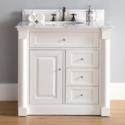 Madison 26 Single Cottage White Bathroom Vanity Set