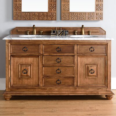 Frye Traditional 60 Single Cinnamon Bathroom Vanity Set