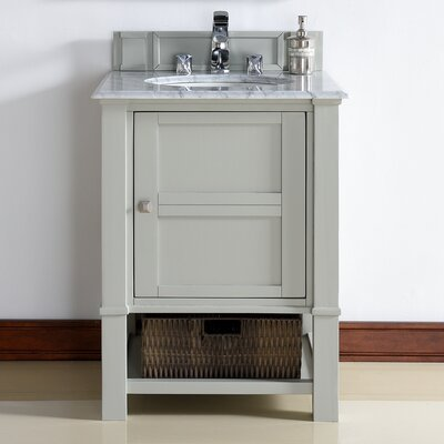 Westminster Traditional 26 Single Dove Gray Bathroom Vanity Set