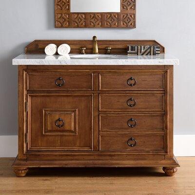 Frye 48 Single Cinnamon Bathroom Vanity Set