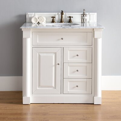 Westminster 26 Single Cottage White Bathroom Vanity Set