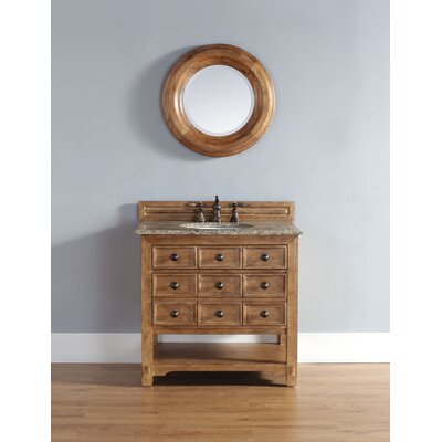 Montebello 36 Single Honey Alder Vanity Bathroom Vanity Set