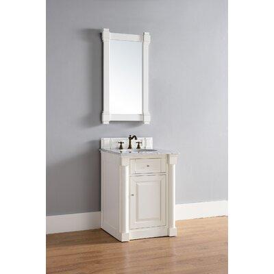 New Haven 26 Single Bathroom Vanity Base Base Finish: Cottage White