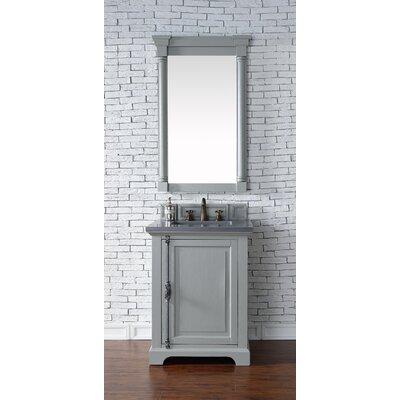 Providence 26 Single Urban Gray Bathroom Vanity Set Top Thickness: 4cm