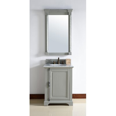 Providence 26 Single Urban Gray Bathroom Vanity Set Top Thickness: 4cm