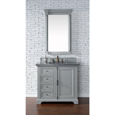 Providence 36 Single Urban Gray Bathroom Vanity Set Top Thickness: 2cm