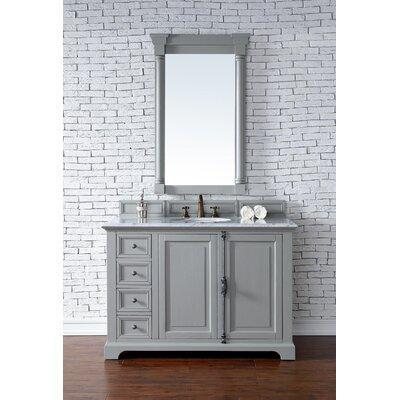 Providence 48 Single Urban Gray Bathroom Vanity Set Top Thickness: 2cm