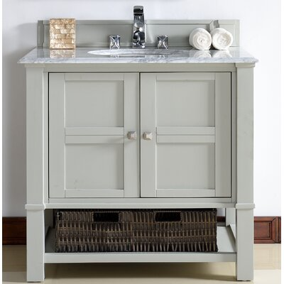 Westminster Traditional 36 Single Dove Gray Bathroom Vanity Set