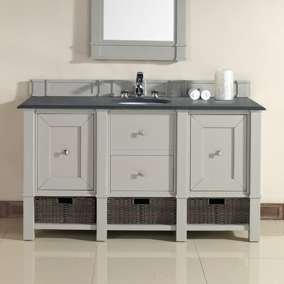 Westminster Traditional 60 Single Dove Gray Bathroom Vanity Set